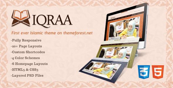 ThemeForest Islamic Responsive HTML5 Theme 3289842