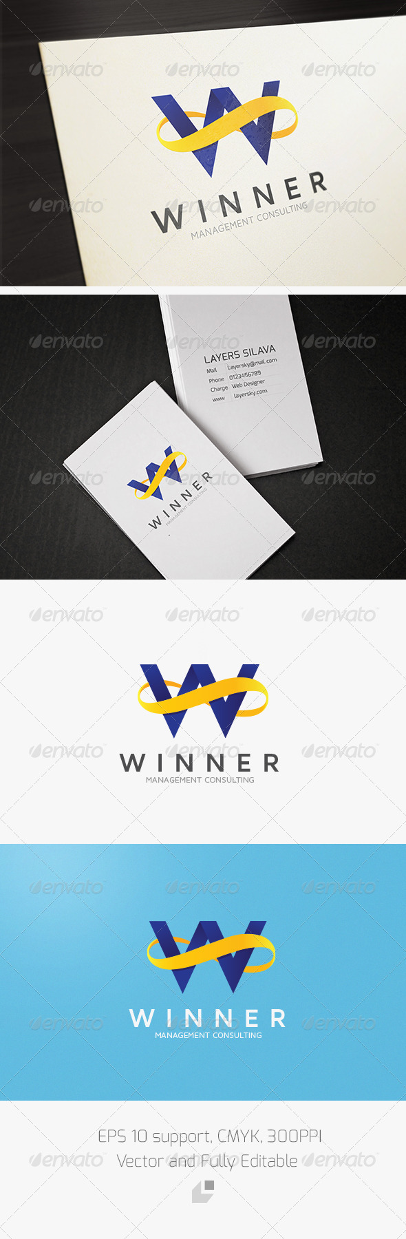 GraphicRiver Winner Infinity Logo 3296748