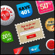 Call To Action Buttons & Badges Vol.2 - GraphicRiver Item for Sale