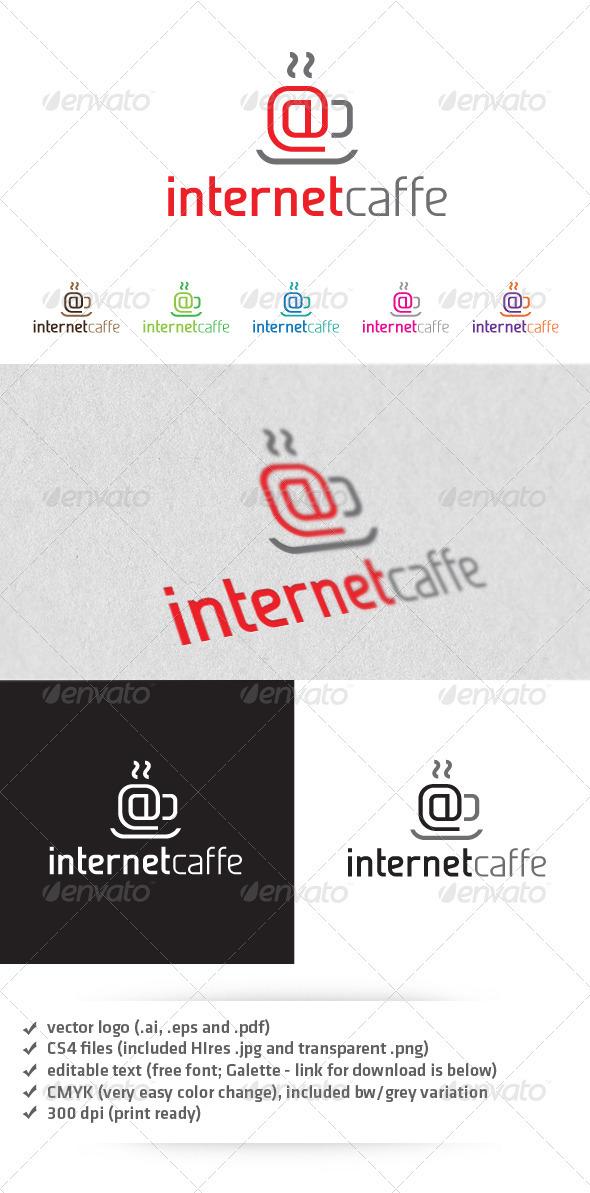 GraphicRiver Internet Caffe Logo 3296909