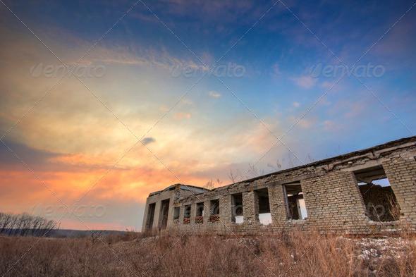 Ukrainian nature landscape. HDR - Stock Photo - Images