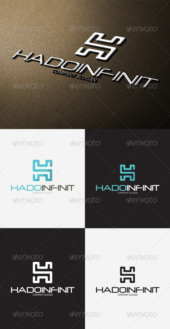 GraphicRiver Hado Infinity H Letter Logo 3297337