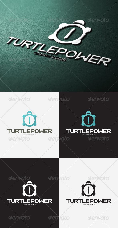 GraphicRiver Turtle Power Logo 3297387