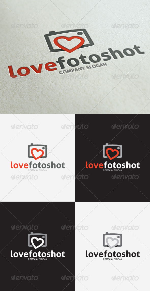 GraphicRiver Love Photo Shot Logo 3297414