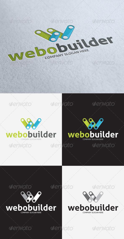GraphicRiver Webo Builder Logo 3297435