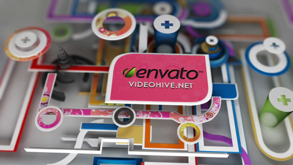After Effects Project - VideoHive Colorful World 3266143