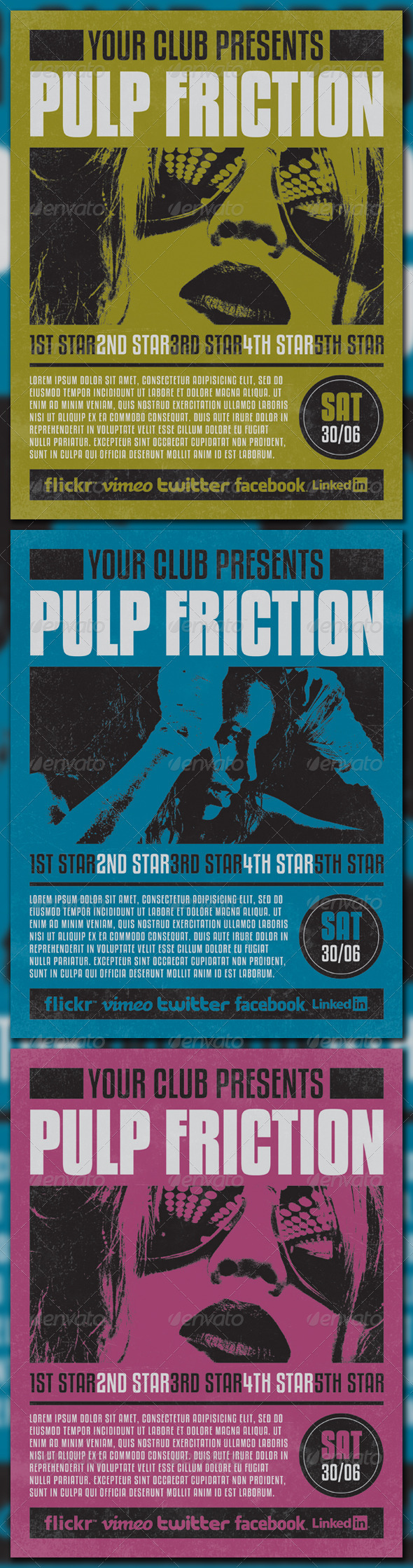 GraphicRiver PULP FRICTION 3297623
