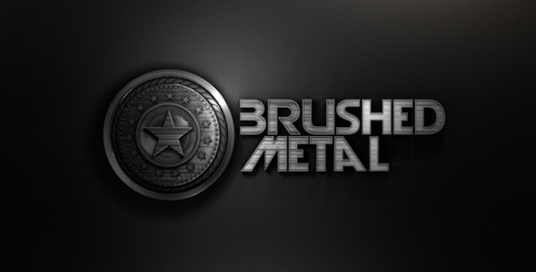 VideoHive Brushed Metal Opening 3297731
