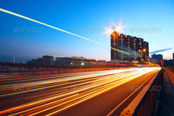 traffic light at morning city - Stock Photo - Images