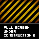 Full Screen Bg Under Construction v2 - ActiveDen Item for Sale