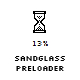 Sandglass Preloader - ActiveDen Item for Sale