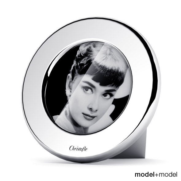 3DOcean Christofle Fidelio round picture frame 116563