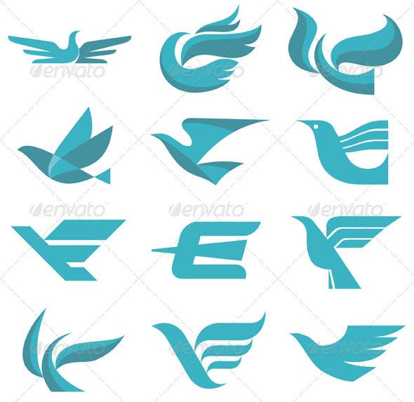 GraphicRiver Birds Sign 12 3300531