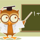 Owl teaching math - GraphicRiver Item for Sale