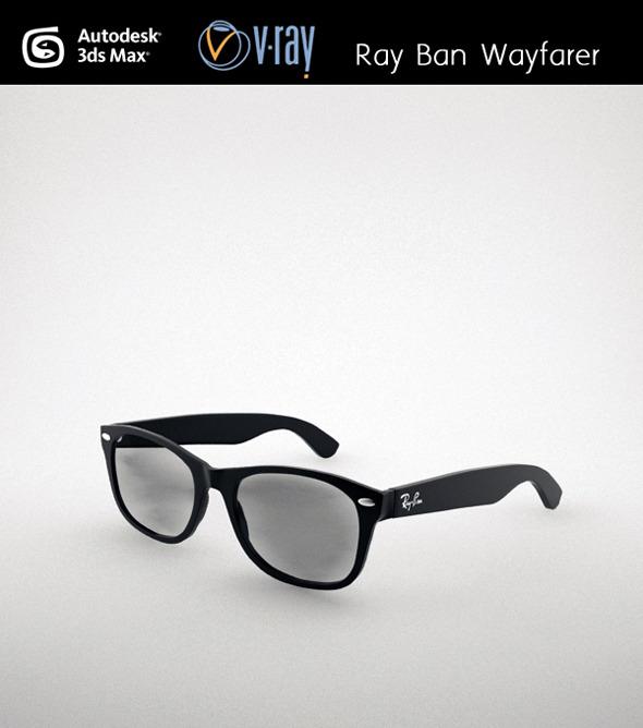 3DOcean Ray Ban Wayfarer 3300876