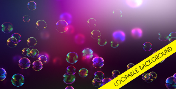 VideoHive Bubbles Background 3300955