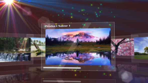 After Effects Project - VideoHive Glassy Displays 115839