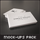 Flyer and Business Card Clean Realistic Mockups - GraphicRiver Item for Sale