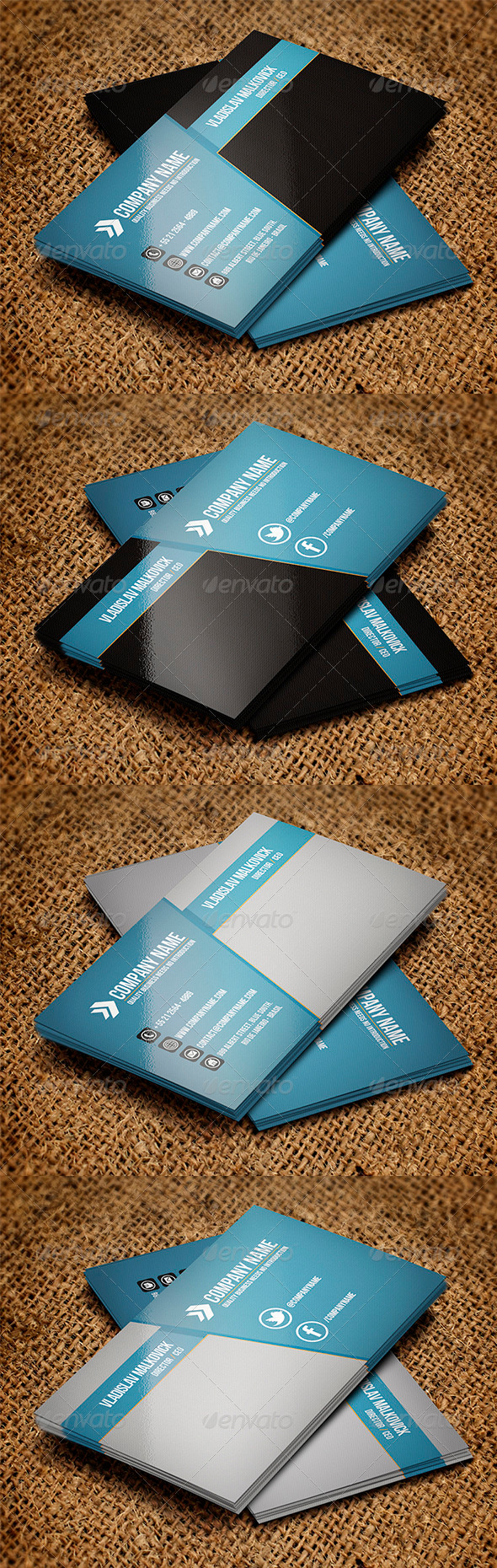 GraphicRiver Corporate Business Card 6 3302111