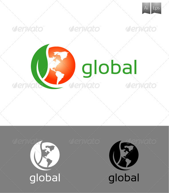 GraphicRiver Global Logo 3302649