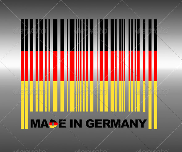 Made in Germany. - Stock Photo - Images