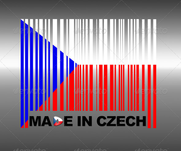 Made in Czech Republic. - Stock Photo - Images