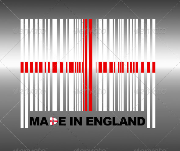 Made in England. - Stock Photo - Images