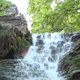 Waterfall under Plane Trees - VideoHive Item for Sale