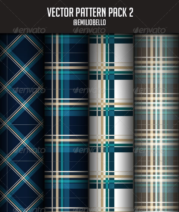 GraphicRiver Vector Pattern Pack 2 3305241