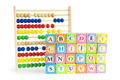 Alphabet blocks and abacus isolated on white - PhotoDune Item for Sale