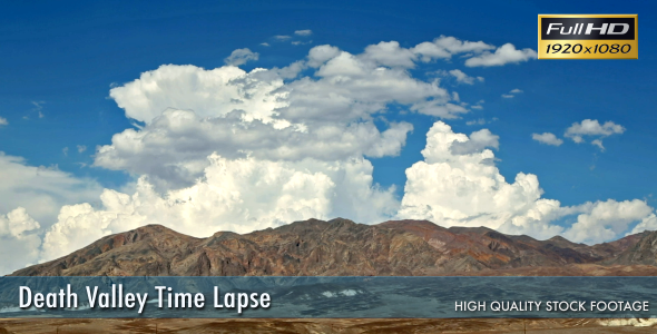 Death Valley Time Lapse