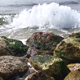 Small Waves Crash against the Shore - VideoHive Item for Sale