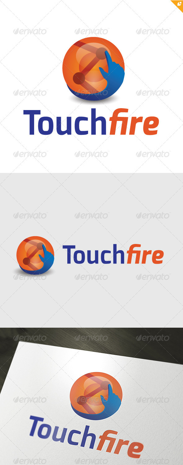 GraphicRiver Touchfire Logo 3210208