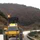 Bulldozer on the Road - VideoHive Item for Sale