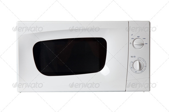 microwave oven - Stock Photo - Images