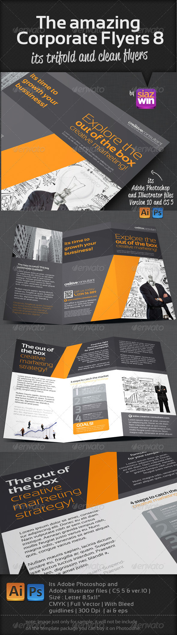 GraphicRiver The Amazing Corporate Flyers 8 3308160