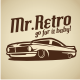 Retro Car V.1 Logo Template - GraphicRiver Item for Sale