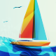 Seascape Abstract - GraphicRiver Item for Sale