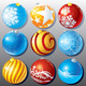 Christmas Glass Balls - GraphicRiver Item for Sale