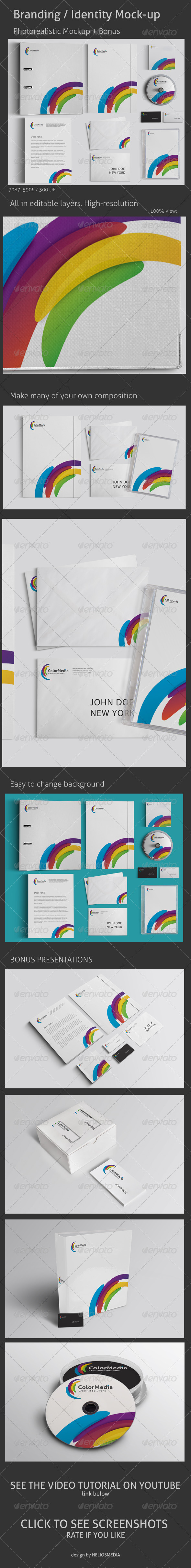 GraphicRiver Branding Identity Mock-up 3277323