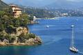 Bay of Portofino. Liguria, Italy.