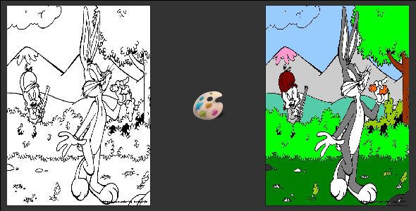 WP - Responsive Kids Coloring Book - WorldWideScripts.net Item for Sale