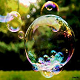 Flight of a Soap Bubble