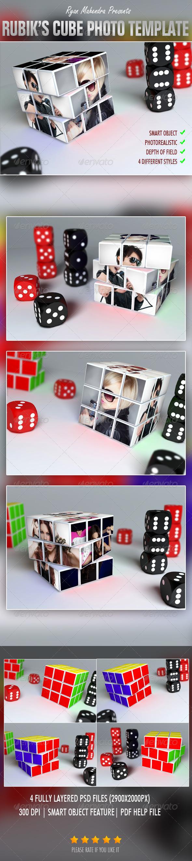 GraphicRiver Rubik s Cube Photo Template 3309677