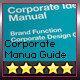 Corporate Design Manual Guide DIN A4 // 24 Pages - GraphicRiver Item for Sale