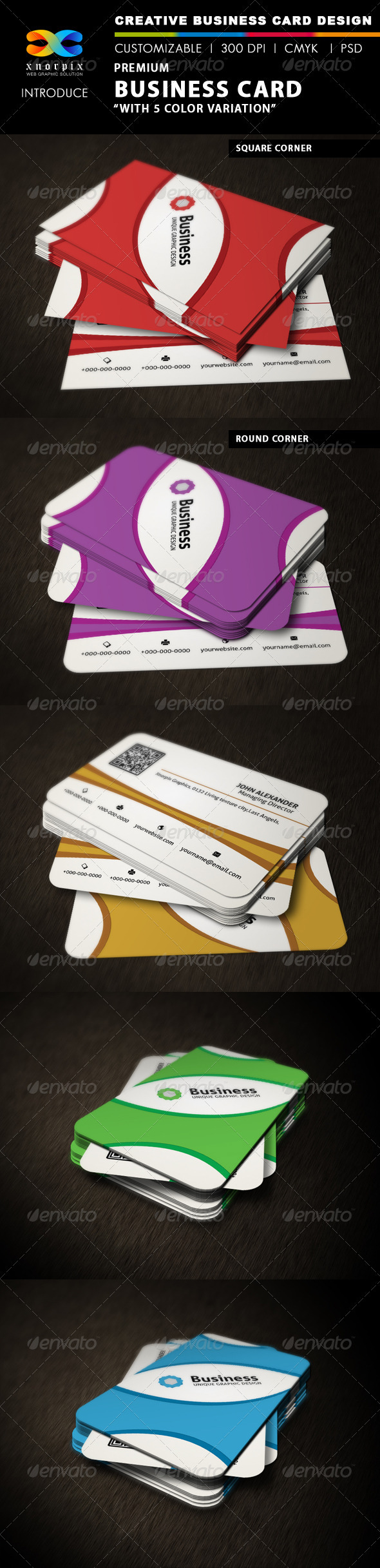 GraphicRiver Premium Business Card 3310104