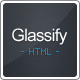 G1 vCard - Glassify one page vCard - ThemeForest Item for Sale