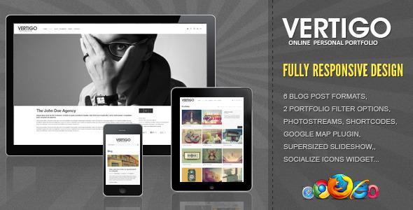 Vertigo - Responsive HTML Template