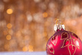 Red and gold christmas baubles - PhotoDune Item for Sale