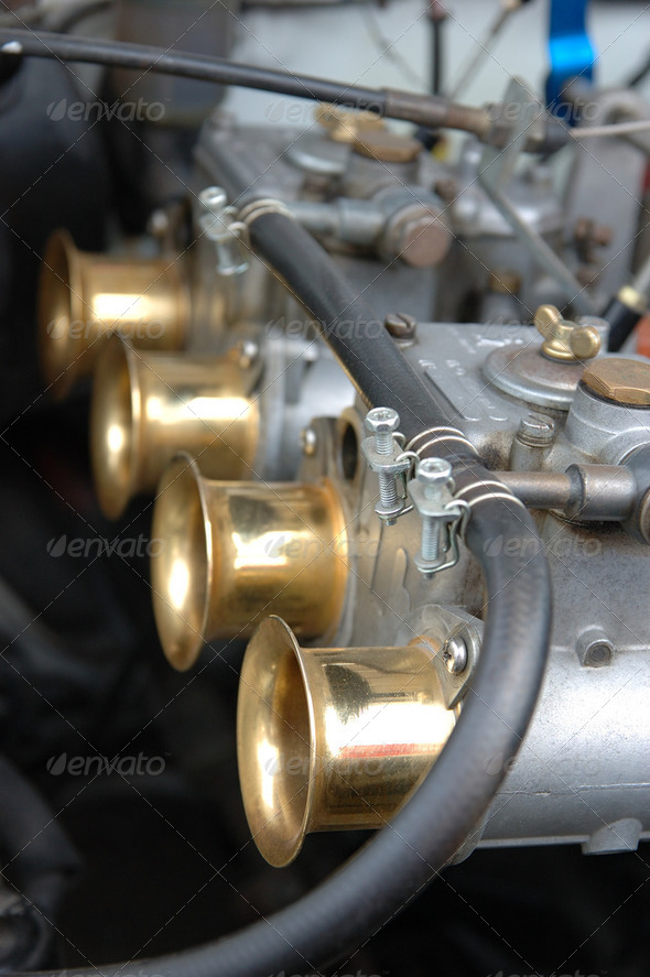 Car engine part - Stock Photo - Images